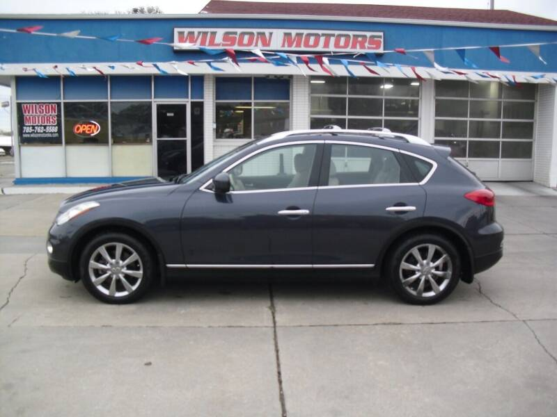 2008 Infiniti EX35 for sale at Wilson Motors in Junction City KS