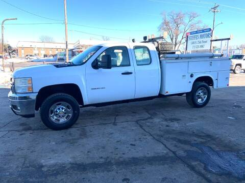 2011 Chevrolet Silverado 3500HD for sale at Steffes Motors in Council Bluffs IA