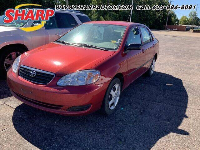 2008 Toyota Corolla for sale at Sharp Automotive in Watertown SD