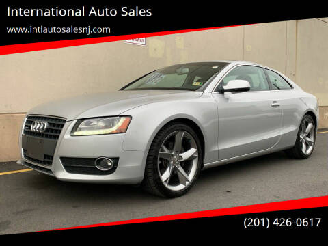 2010 Audi A5 for sale at International Auto Sales in Hasbrouck Heights NJ