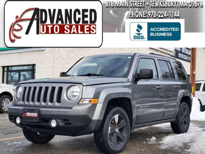 2014 Jeep Patriot for sale at Advanced Auto Sales in Tewksbury MA