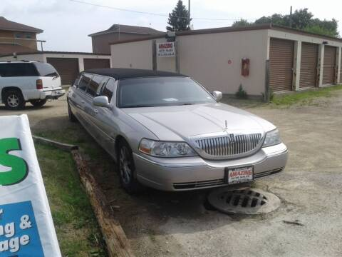 2007 Lincoln Town Car for sale at AMAZING AUTO SALES in Marengo IL