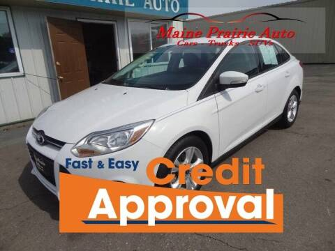 2013 Ford Focus for sale at Maine Prairie Auto INC in Saint Cloud MN