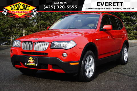 2007 BMW X3 for sale at West Coast Auto Works in Edmonds WA
