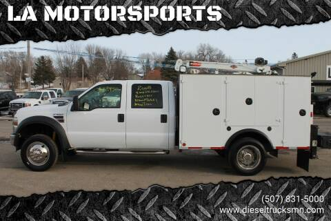 2008 Ford F-550 Super Duty for sale at LA MOTORSPORTS in Windom MN