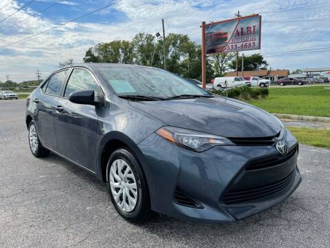 2017 Toyota Corolla for sale at Albi Auto Sales LLC in Louisville KY