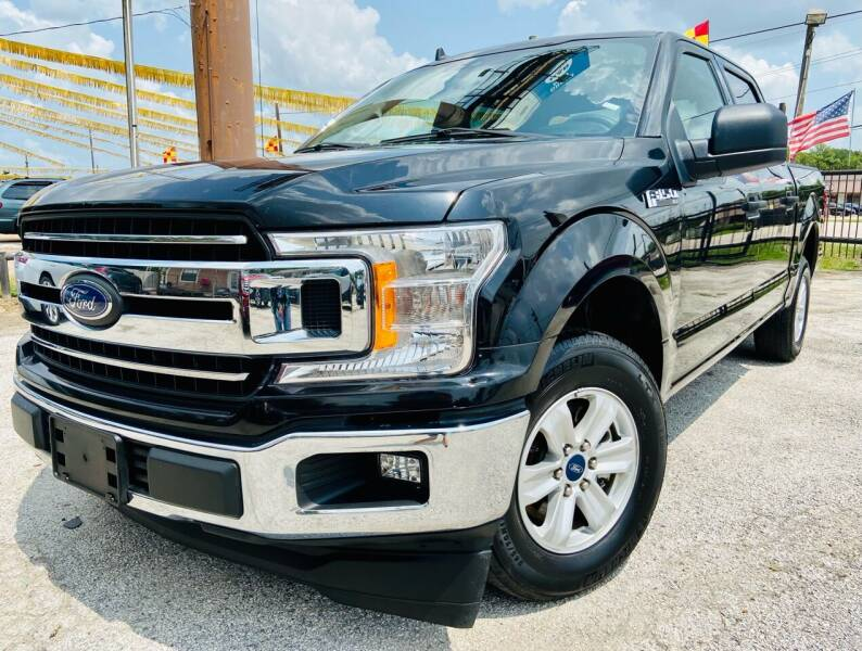 2020 Ford F-150 for sale at Lion Auto Finance in Houston TX