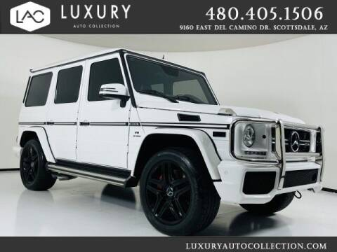 2016 Mercedes-Benz G-Class for sale at Luxury Auto Collection in Scottsdale AZ