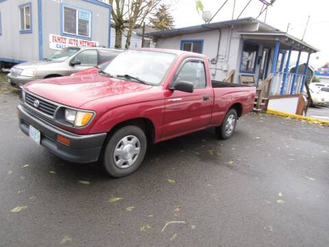 1996 Toyota Tacoma for sale at ARISTA CAR COMPANY LLC in Portland OR