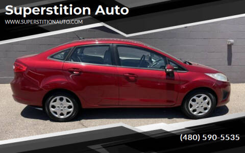 2013 Ford Fiesta for sale at Superstition Auto in Mesa AZ