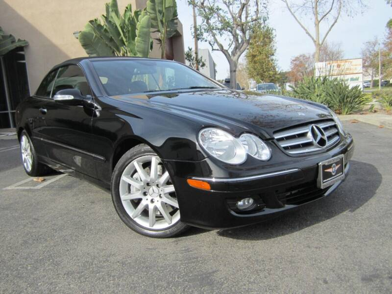 2007 Mercedes-Benz CLK for sale at ORANGE COUNTY AUTO WHOLESALE in Irvine CA