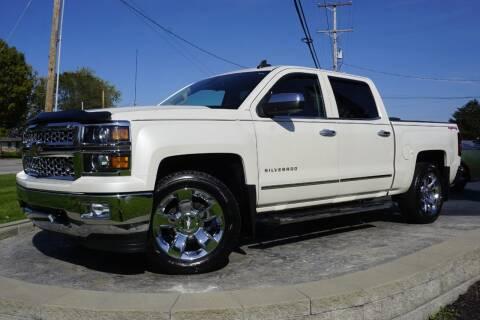 2015 Chevrolet Silverado 1500 for sale at Platinum Motors LLC in Heath OH