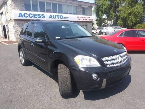 2007 Mercedes-Benz M-Class for sale at Access Auto in Salt Lake City UT