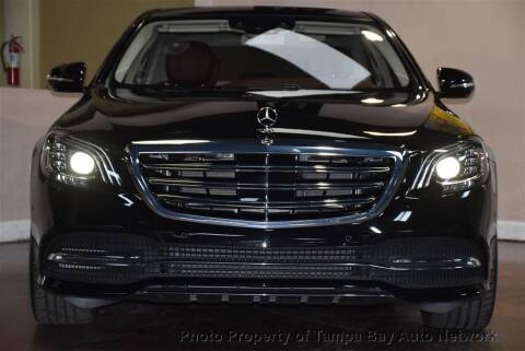 2019 Mercedes-Benz S-Class for sale at Tampa Bay AutoNetwork in Tampa FL