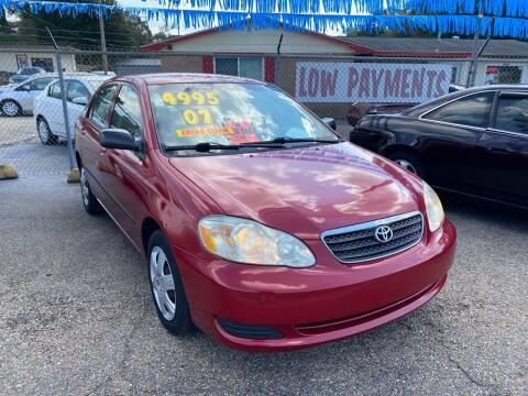 2007 Toyota Corolla for sale at Port City Auto Sales in Baton Rouge LA