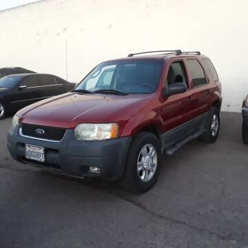 2003 Ford Escape for sale at Goleta Motors in Goleta CA