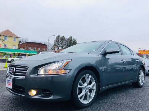 2014 Nissan Maxima for sale at Trimax Auto Group in Baltimore MD