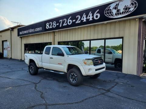 2005 Toyota Tacoma for sale at AutoWorld of Lenoir in Lenoir NC