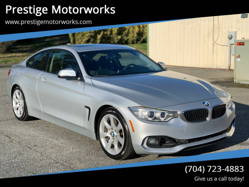2014 BMW 4 Series for sale at Prestige Motorworks in Concord NC