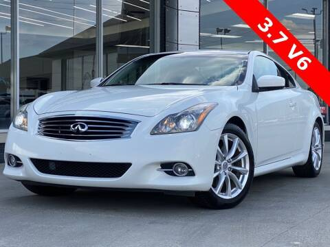 2011 Infiniti G37 Coupe for sale at Carmel Motors in Indianapolis IN