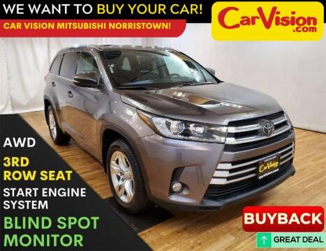 2017 Toyota Highlander for sale at Car Vision Mitsubishi Norristown in Trooper PA