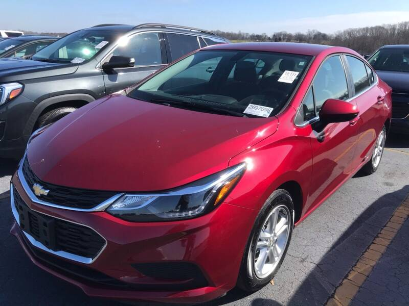 2018 Chevrolet Cruze for sale at Scotty's Auto Sales, Inc. in Elkin NC