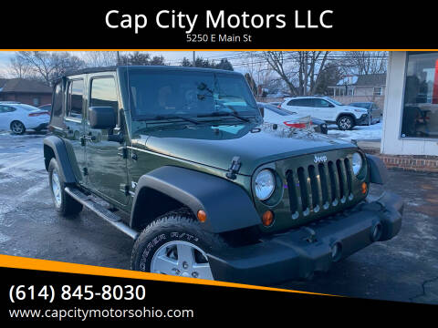 2009 Jeep Wrangler Unlimited for sale at Cap City Motors LLC in Columbus OH