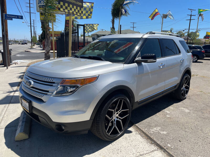 2015 Ford Explorer for sale at JR'S AUTO SALES in Pacoima CA