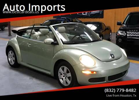 2007 Volkswagen New Beetle for sale at Auto Imports in Houston TX