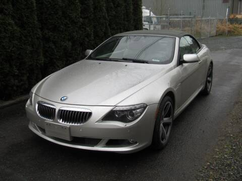 2008 BMW 6 Series for sale at Royal Auto Sales, LLC in Algona WA