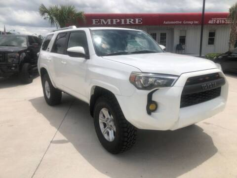 2015 Toyota 4Runner for sale at Empire Automotive Group Inc. in Orlando FL