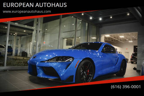 2021 Toyota GR Supra for sale at EUROPEAN AUTOHAUS in Holland MI