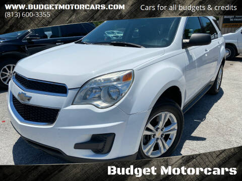 2012 Chevrolet Equinox for sale at Budget Motorcars in Tampa FL