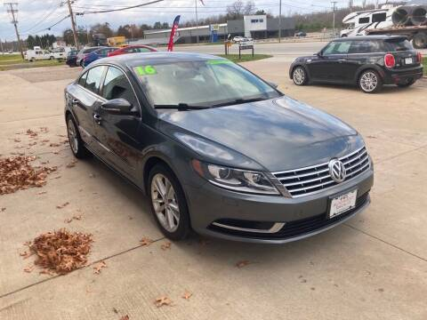 2016 Volkswagen CC for sale at Auto Import Specialist LLC in South Bend IN