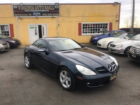 2006 Mercedes-Benz SLK for sale at Virginia Auto Mall in Woodford VA