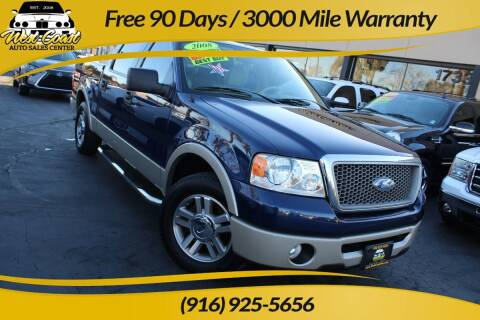 2008 Ford F-150 for sale at West Coast Auto Sales Center in Sacramento CA