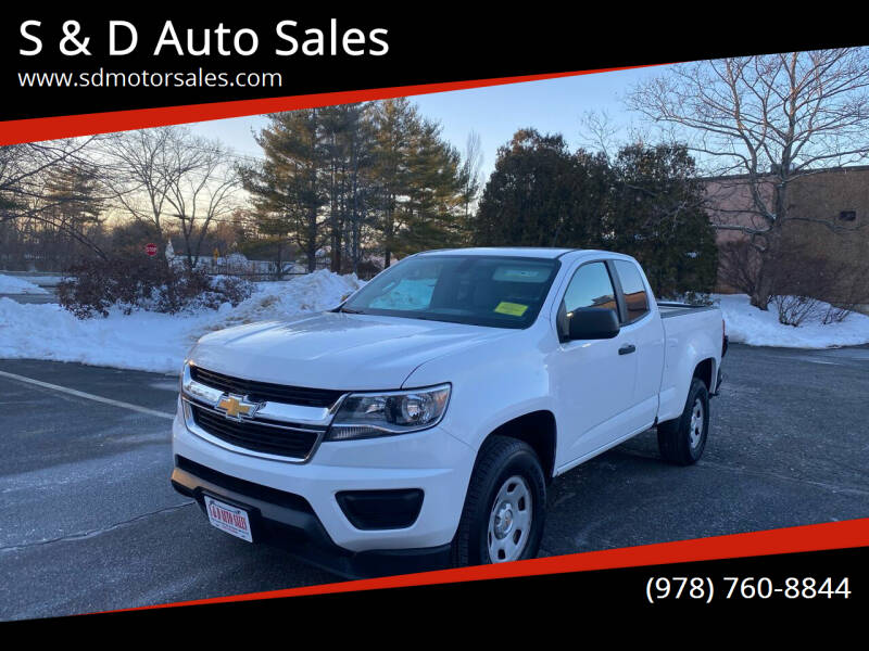 2015 Chevrolet Colorado for sale at S & D Auto Sales in Maynard MA
