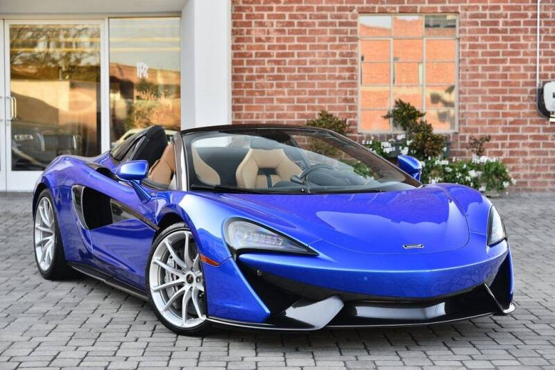 2018 McLaren 570S Spider for sale at O'Gara Coach McLaren Beverly Hills in Beverly Hills CA