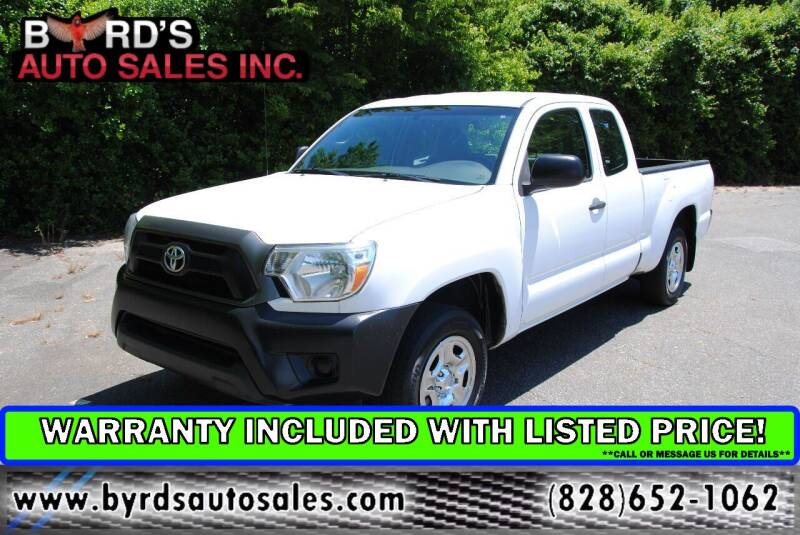 2015 Toyota Tacoma for sale at Byrds Auto Sales in Marion NC