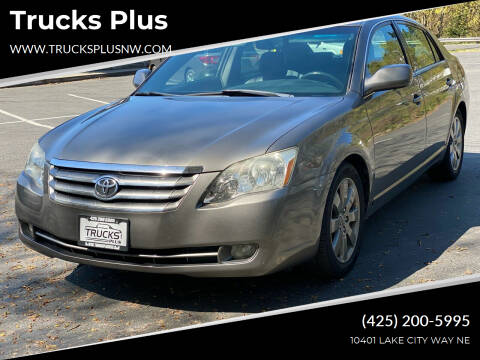 2005 Toyota Avalon for sale at Trucks Plus in Seattle WA