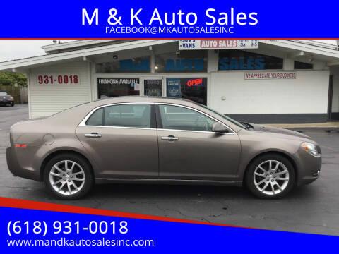 2012 Chevrolet Malibu for sale at M & K Auto Sales in Granite City IL