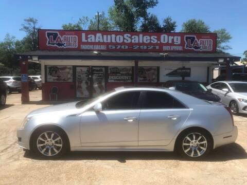 2013 Cadillac CTS for sale at LA Auto Sales in Monroe LA