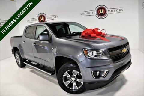 2018 Chevrolet Colorado for sale at Unlimited Motors in Fishers IN