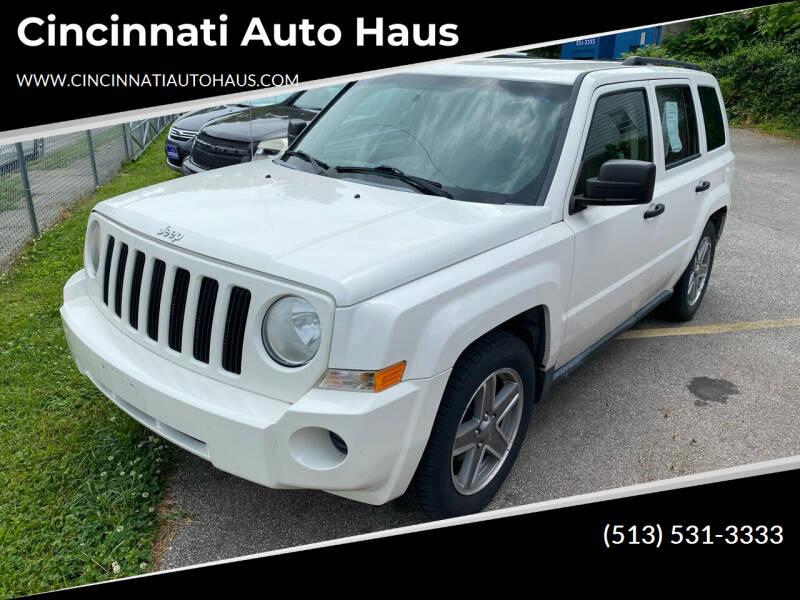 2007 Jeep Patriot for sale at Cincinnati Auto Haus in Cincinnati OH