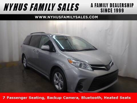 2019 Toyota Sienna for sale at Nyhus Family Sales in Perham MN