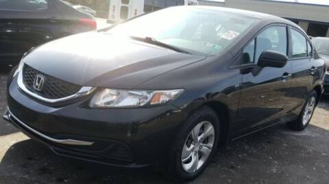 2014 Honda Civic for sale at Precision Automotive Group in Youngstown OH