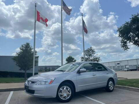 2004 Honda Accord for sale at TWIN CITY MOTORS in Houston TX