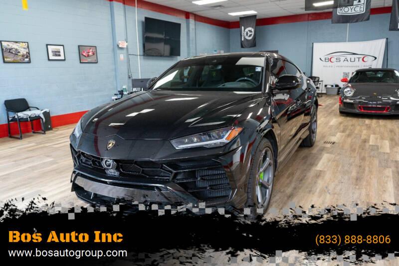 2019 Lamborghini Urus for sale at Bos Auto Inc in Quincy MA