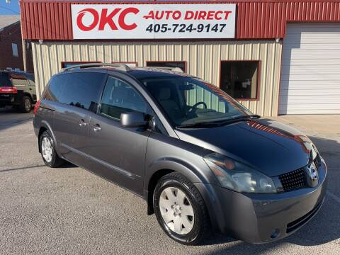 2006 Nissan Quest for sale at OKC Auto Direct in Oklahoma City OK