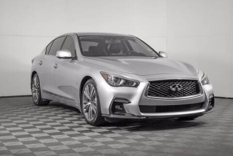2018 Infiniti Q50 for sale at Washington Auto Credit in Puyallup WA